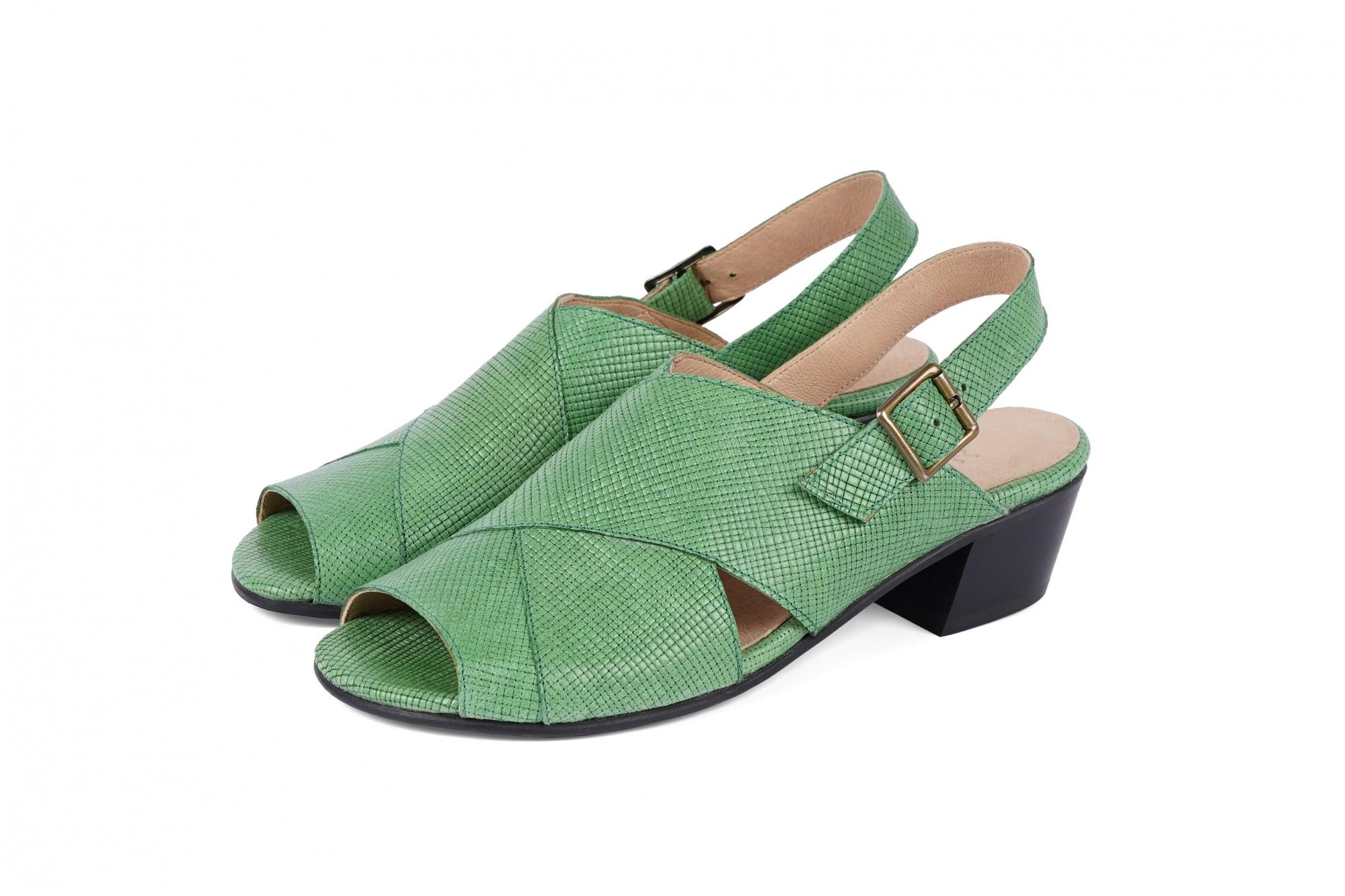 5fe92043c5 Handmade leather Shoes - Leather Sandals - Flat black ... - ADI KILAV