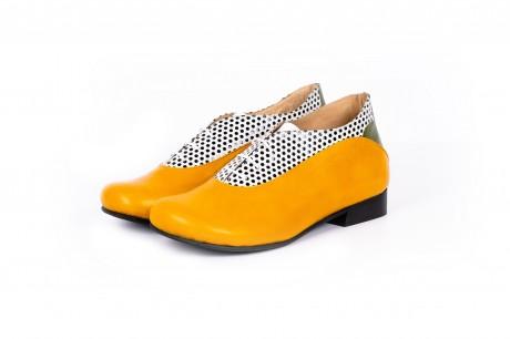 Unique shoes yellow