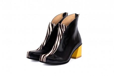 Stylish heeled boots