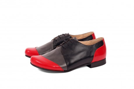 Colorful leather women's shoes by ADIKILAV