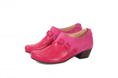 נעליים ורורדות רוכסן